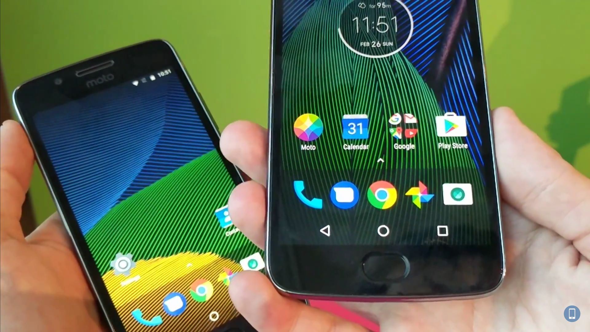 Ensivaikutelmat Moto G5: stä ja G5 Plus: sta # MWC17