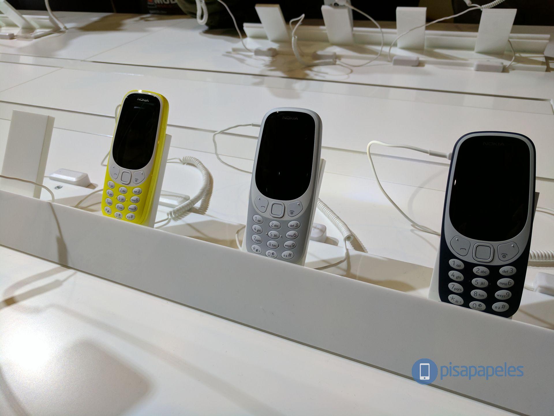Primera impresión del Nokia 3310 # MWC17 1