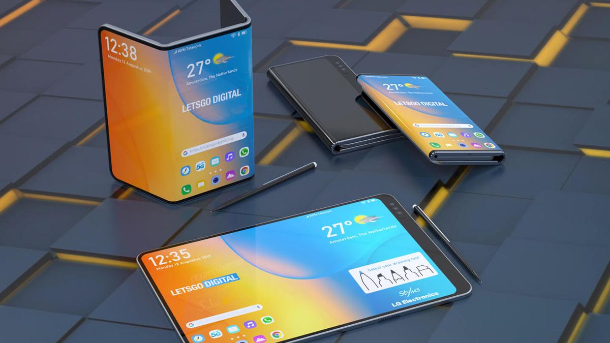 LG IFA 2019-da stilus ilə ikiqat qatlanabilən smartfon elan edə bilər 1