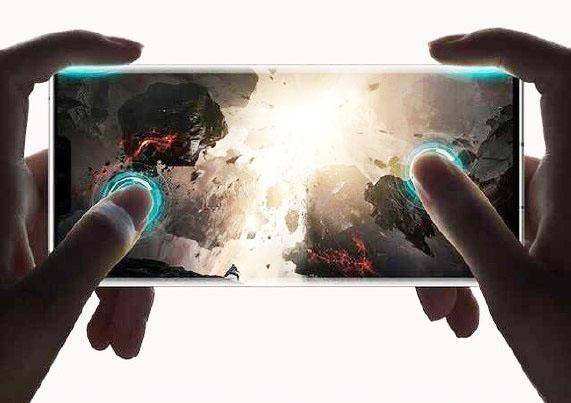 Huawei Mate 30 Pro'nun ekrani, bir gamepad bənzər dörd barmaqlı oyun nəzarətini dəstəkləyir 1