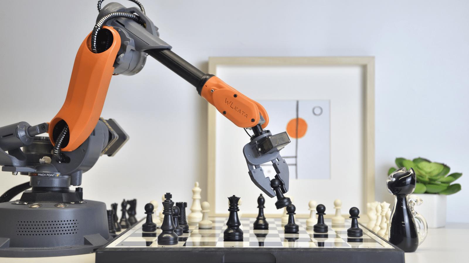 Cánh tay robot này có thể biến máy tính để bàn của bạn thành một dây chuyền sản xuất. 1
