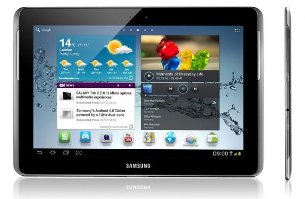 Cómo actualizar Galaxy Pestaña 2 101 P5100 a XXBLH2 Android 4.0.4 Firmware oficial 1