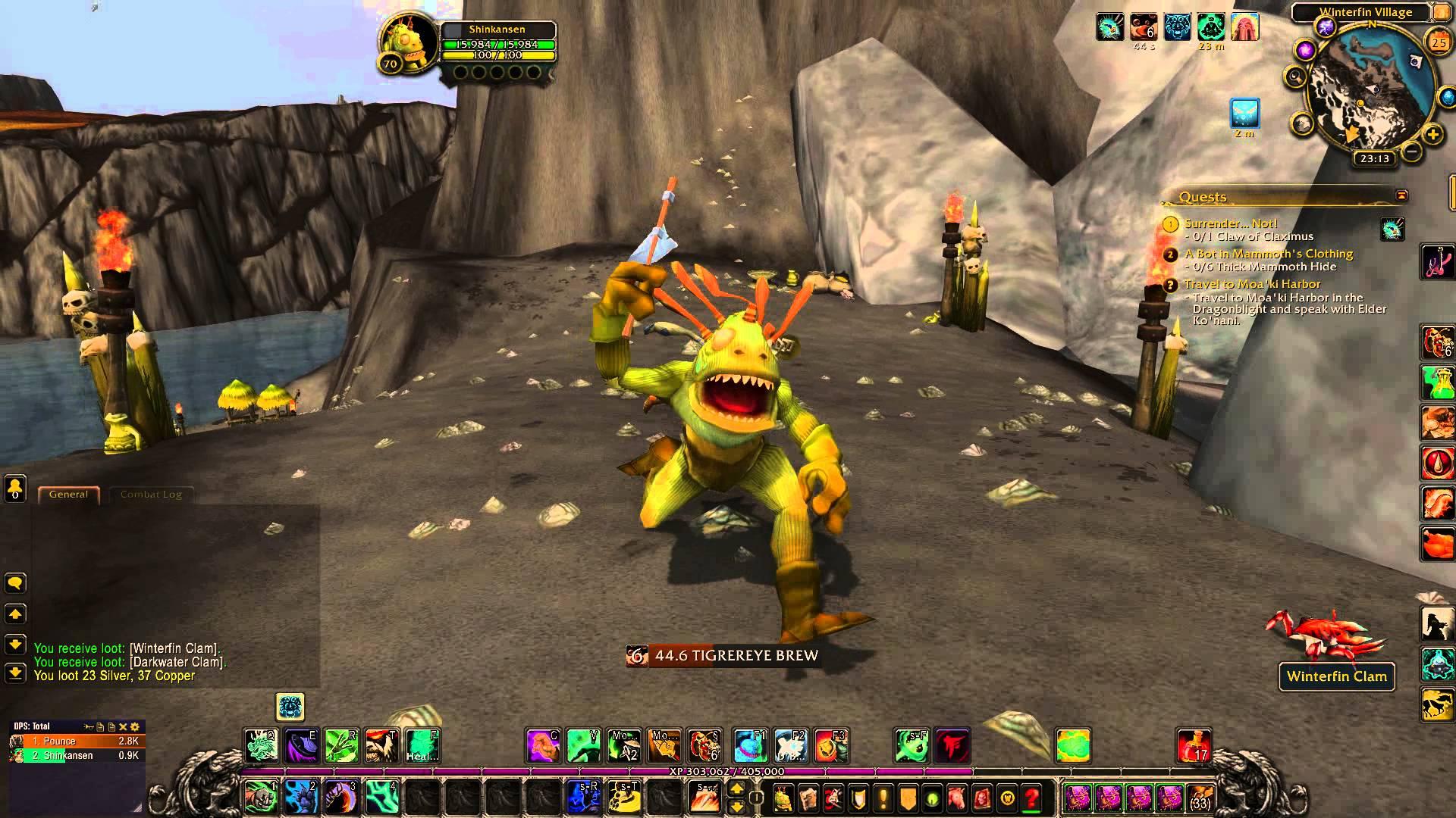 """Murlocs daha sonra World of Warcraft """"width ="""" 1903 """"height ="""" 1070'de oynanabilecek bir yarış olmalı"""