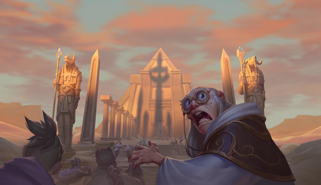Player player Играчот на Hearthstone известува за грешка при преминување од Normal Terror Tomb во Hero 1