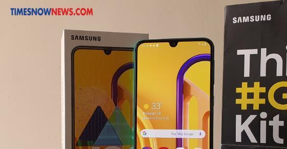 Samsung Galaxy M30s: Samsung Galaxy Foto langsung M30: Smartphone Samsung baru, diluncurkan di Rs. 13.999, bungkus baterai 6000mAh