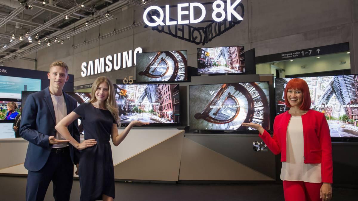 Samsung IFA 2019-da ucuz 8K Smart TV-ni göstərdi 1