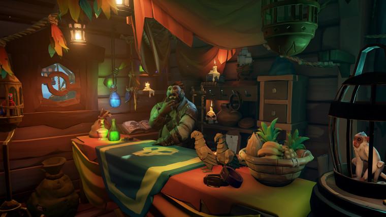 Sea of Thieves Smuggler's Fortune actualiza los aires con mascotas que se pueden comprar y más 1