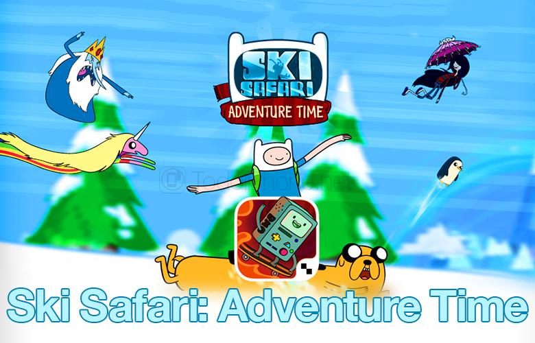 Ski Safari: Adventure Time para iPhone y iPad, obtén un código promocional GRATIS 2