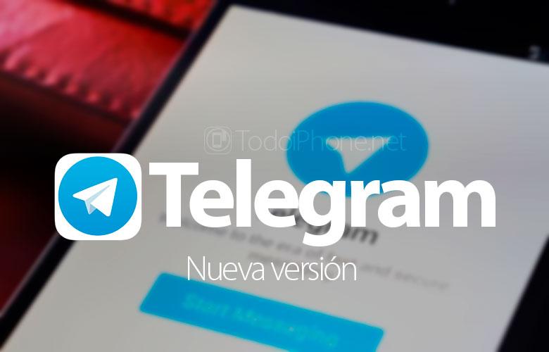 Телеграмата за iOS додава повеќе новости во изданието за видео и налепници 2