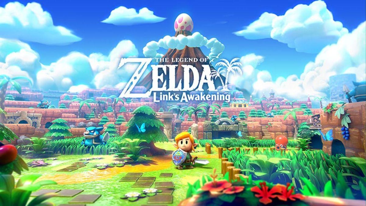 Zelda əfsanəsi: Linkin oyanışı Nintendo Switch təftiş 1