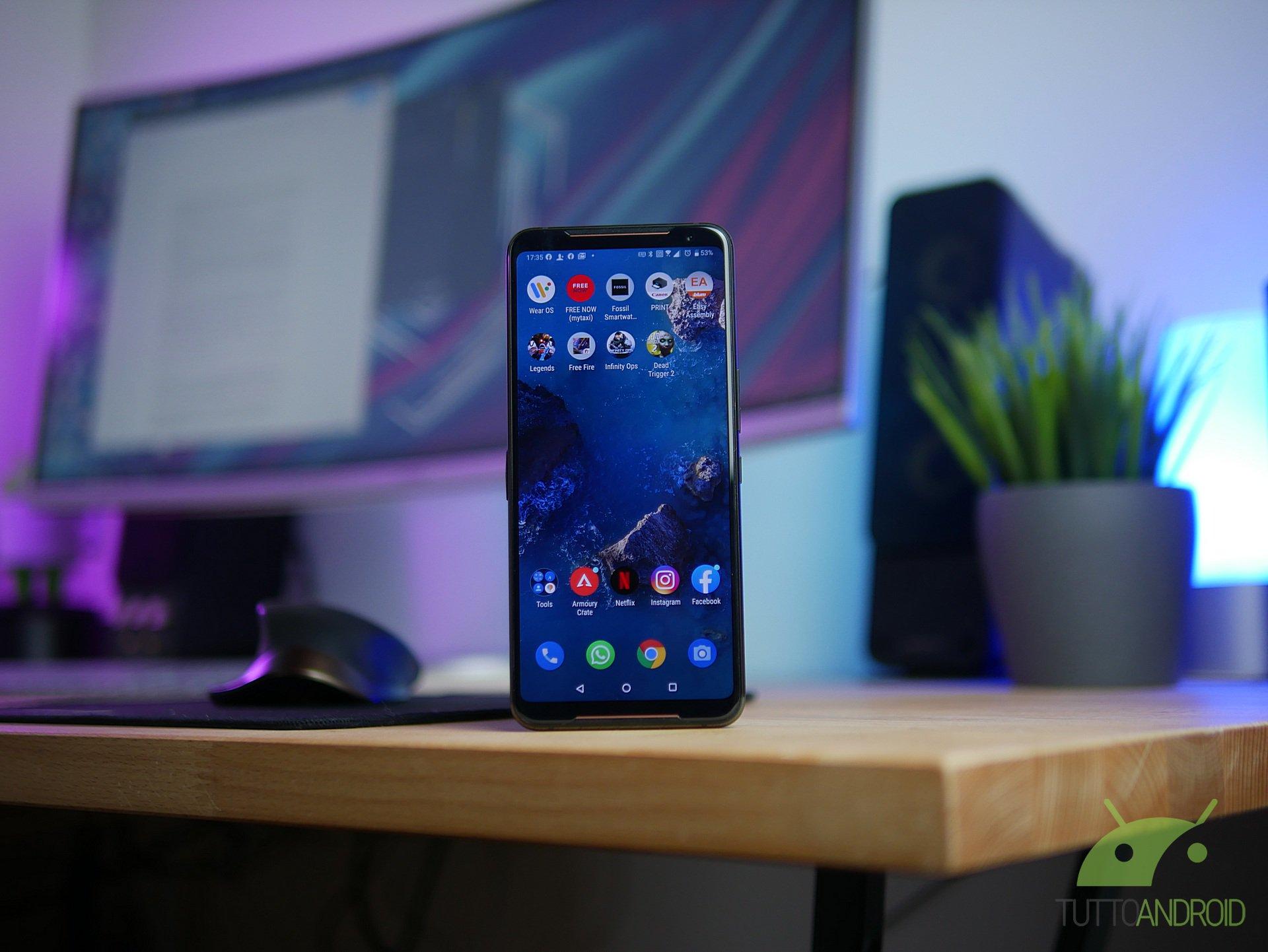 Tinjau ASUS ROG Phone 2: teknik dan substansi membuatnya mendominasi 2