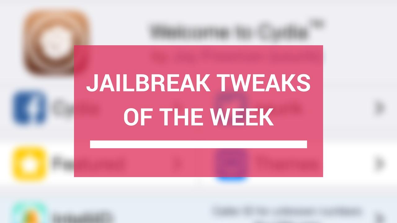 Ajusta el jailbreak en una semana: Cosmos, Dejavu2, playbacksafari y más 2