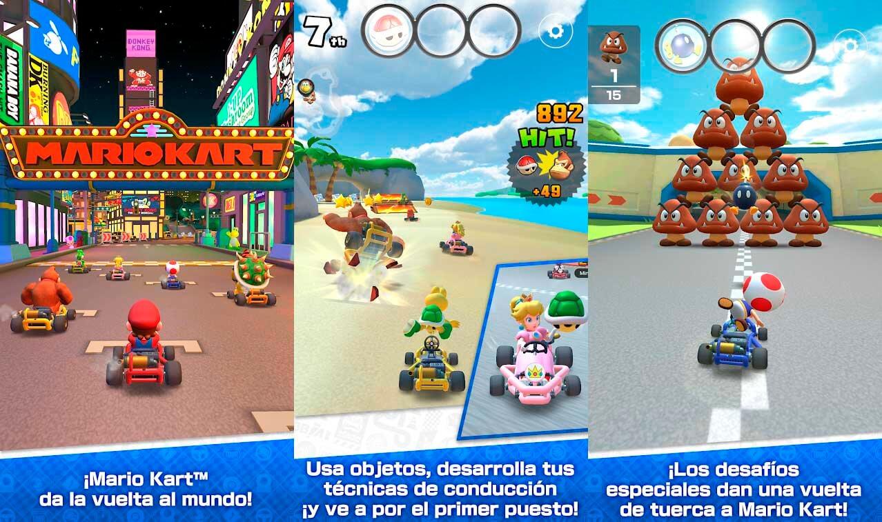 Descarga Mario Kart Tour aquí y quema las ruedas en tu móvil o tableta 1