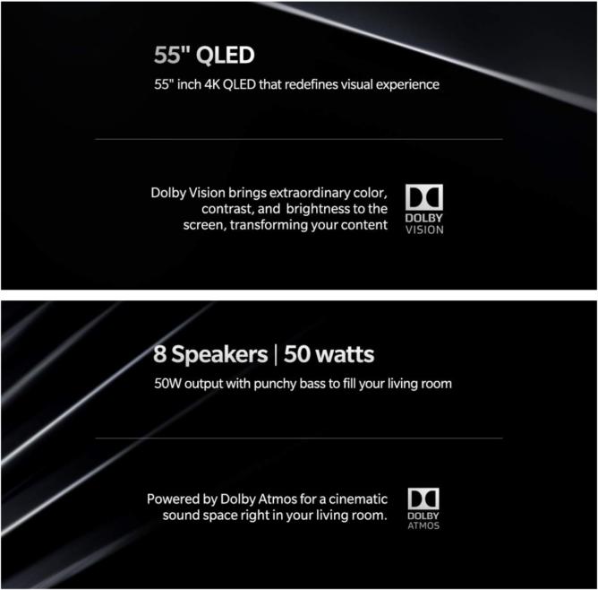 """[Update: Even more specs] OnePlus TV akan datang dalam ukuran 55 """"dengan tampilan QLED menurut eksekutif perusahaan 1"""