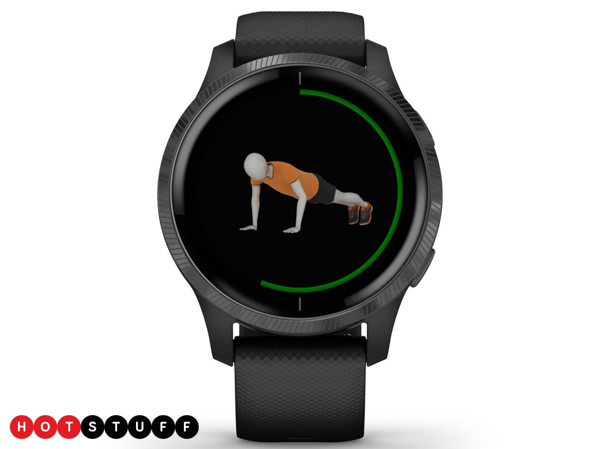 Bao bì GPS của Venu là chiếc smartwatch AMOLED đầu tiên của Garmin 1