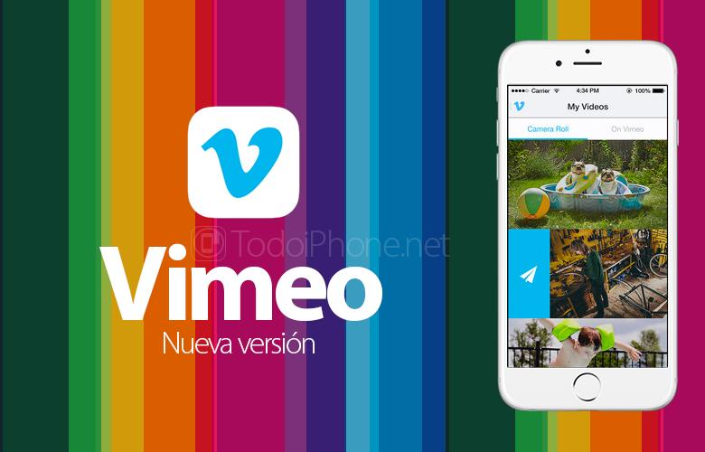 İPhone üçün Vimeo indi Chromecast və digər dəstəyə malikdir 2