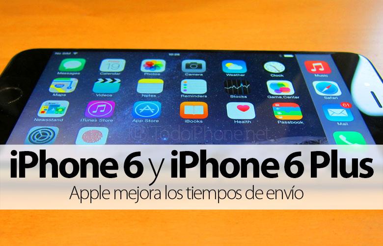 IPhonen toimitusaika 6 ja iPhone 6 Plus alennettu 2