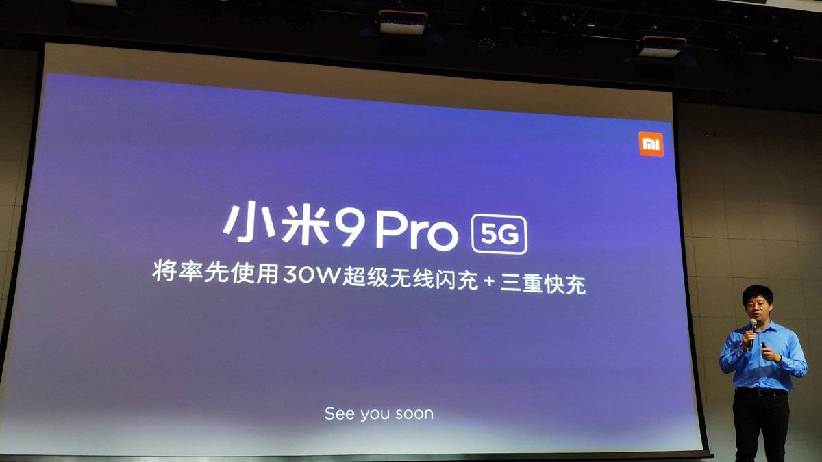 Xiaomi ra mắt Mi Charge Turbo cho Mi 9 Pro 5G và máy in ảnh cầm tay 1