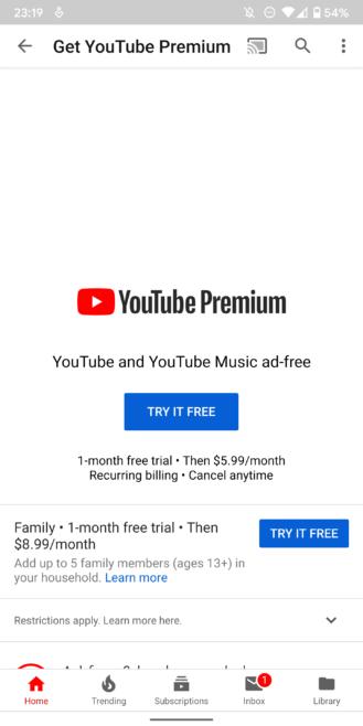 """YouTube    """"Premium"""" və """"Musiqi"""" in başlaması 8 orta şərqdə yeni ölkə 1"""