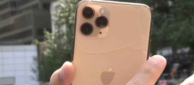 iPhone 11 Pro: 'sərt şüşə' damcı testində uduzdu 2