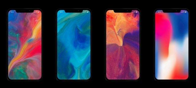 Android telefonları üçün ən son iPhone X Live Divar kağızı yükləyin 1