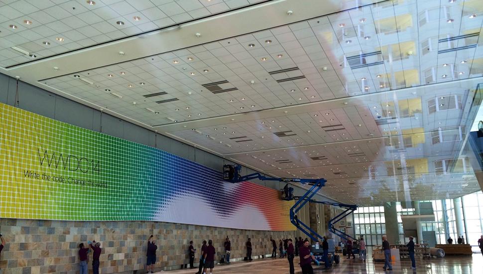 Apple  preparar Moscone West Center para WWDC 14 4