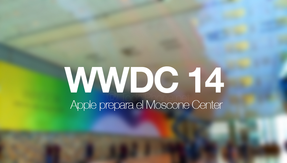 Apple  preparar Moscone West Center para WWDC 14 2