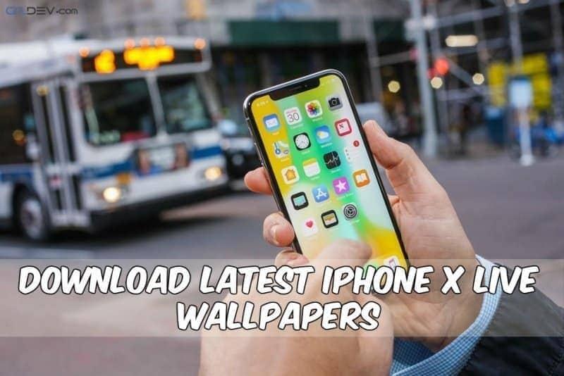 Ən son iPhone X canlı divar kağızı