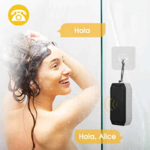 Mbuynow presents a Bluetooth 2 shower speaker