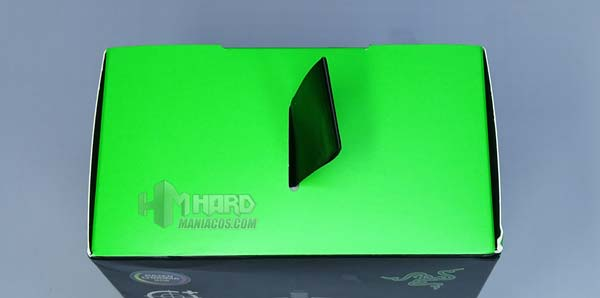 Razer DeathAdder V2, scatola con manico