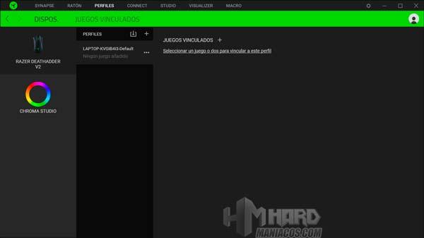 Razer DeathAdder V2, allinea i profili del dispositivo