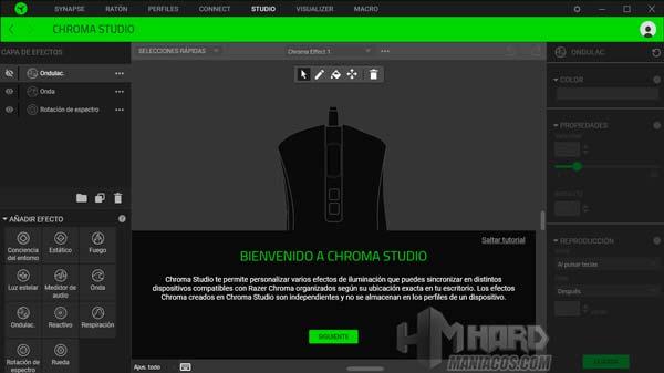 Razer DeathAdder V2, Synapse Studio
