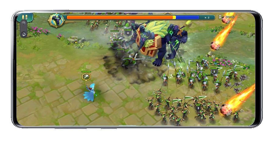Crea y derrota países competidores con el juego Art of Conquest 2