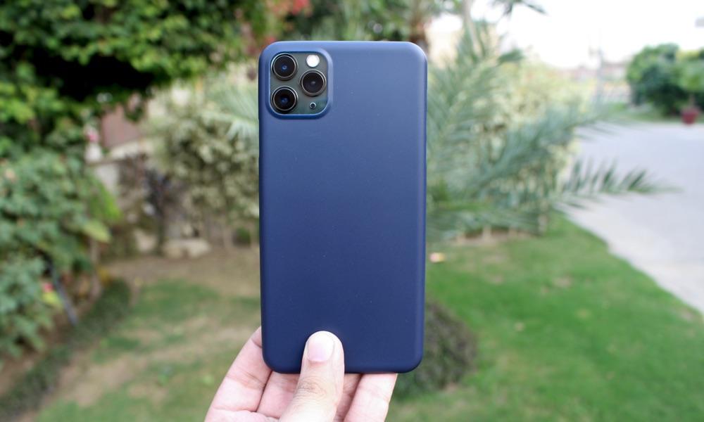 غلاف IPhone Totallee أزرق رفيع 11 برو ماكس