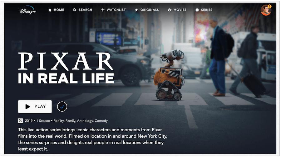 Pixar Real Həyat