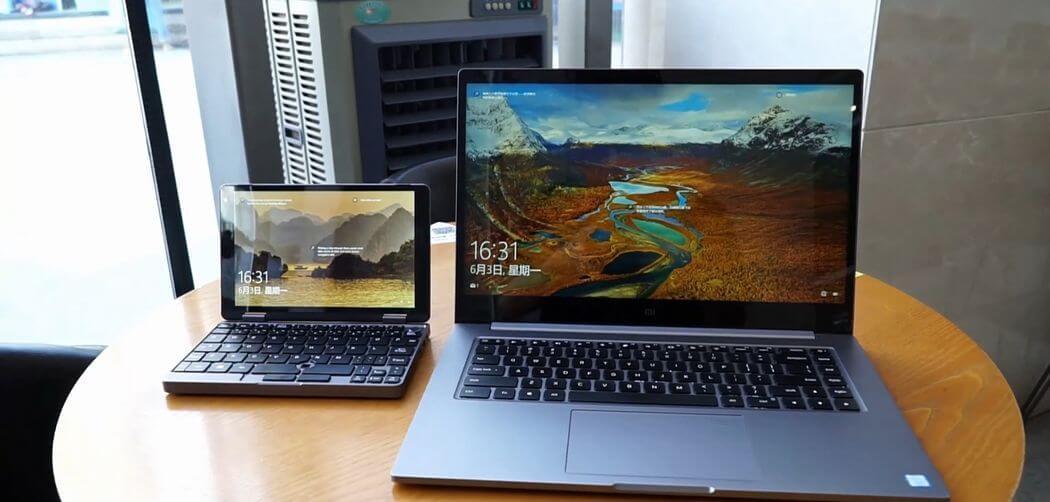 CHUWI MiniBook: Mini Seyahat Dizüstü Bilgisayar 2020