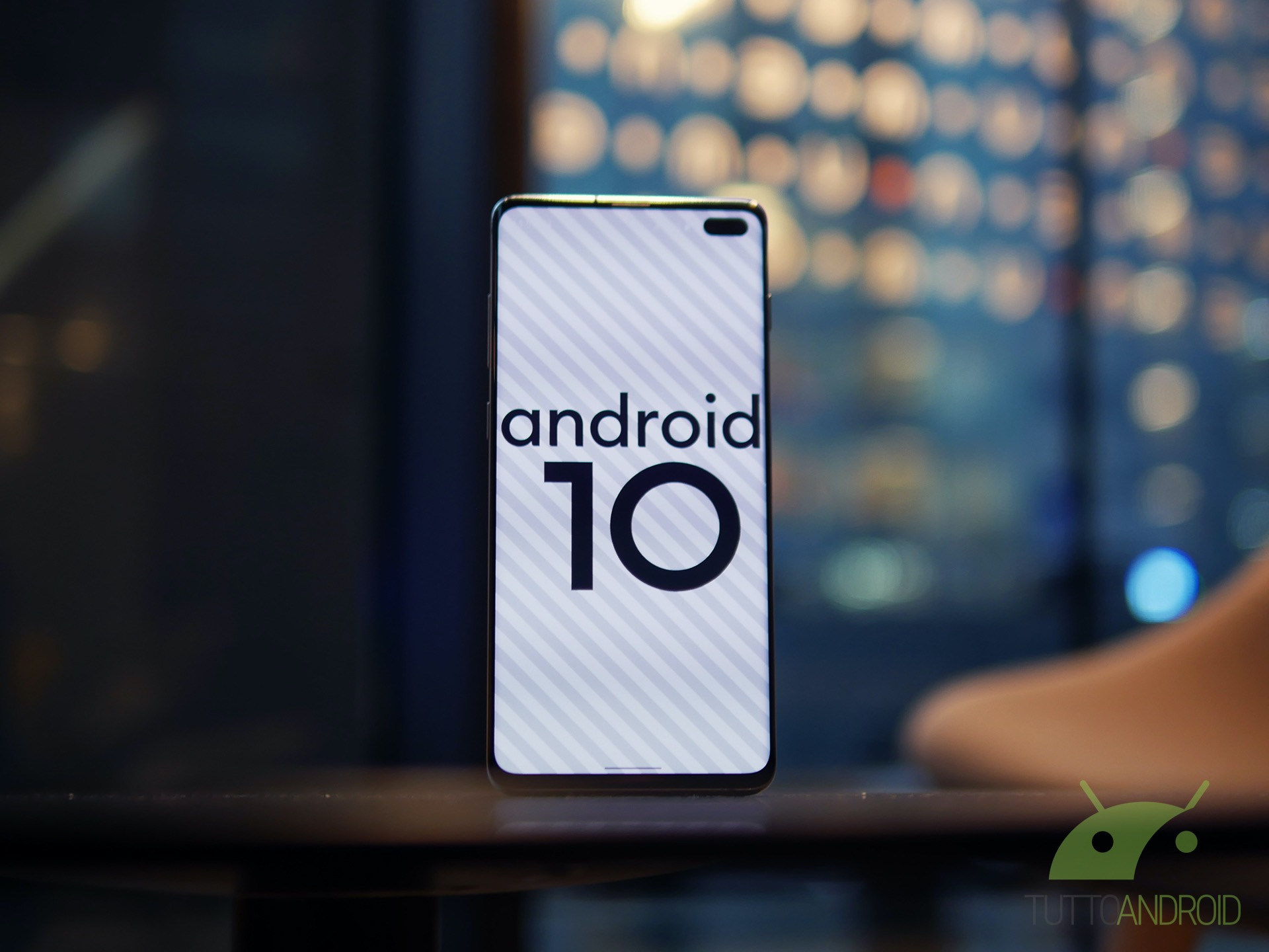 Android 10 Samsung Galaxy S10 +