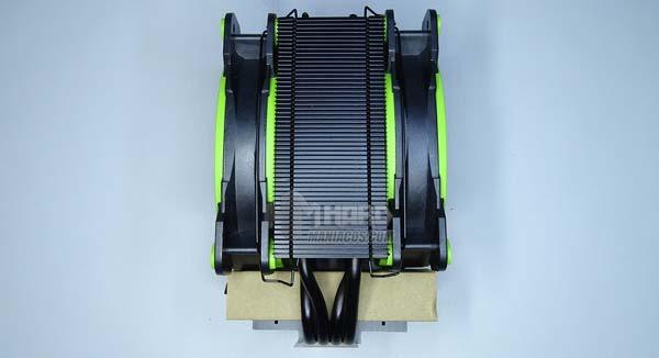 Revisión Arctic Freezer 34 eSports DUO Disipador térmico 13