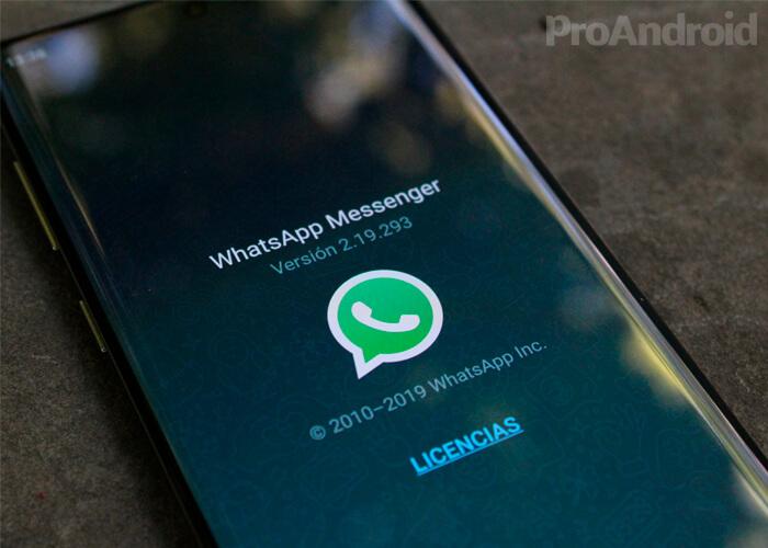 WhatsApp di Galaxy Note  10