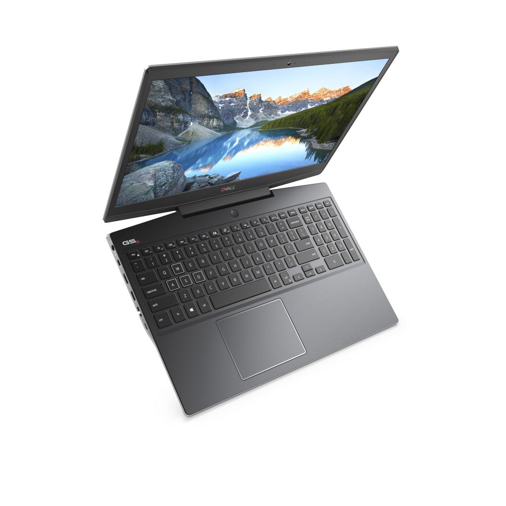 Dell G5 15 hiển thị bàn phím RGB 4-optional khu vực với WASD