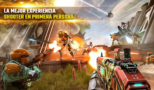 Android strieľačka 2019 - Shadowgun Legends