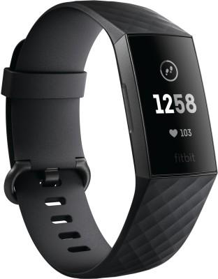 Fitbit şarjı 3 (Qara ip, ölçüsü: müntəzəm)