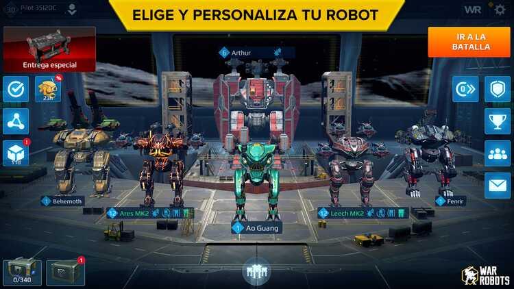 War Robots, một trò chơi bắn súng dành cho Android hứa hẹn sẽ mang đến nhiều điều để nói về 1