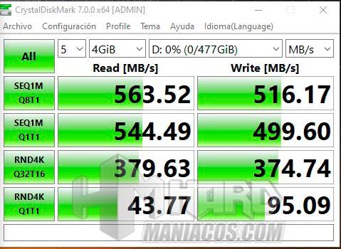 Kingston KC600 SSD arvostelu 5