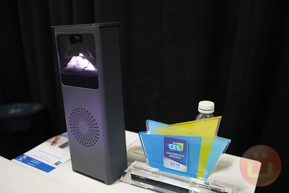 جهاز عرض Adok Aura بشاشة تعمل باللمس للعمل التعاوني 2