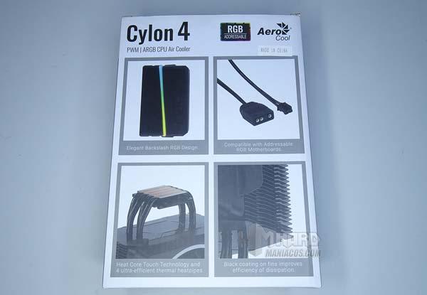 Skontrolujte AeroCool Cylon Chladič 4 4