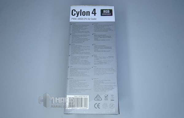 Skontrolujte AeroCool Cylon Chladič 4 3