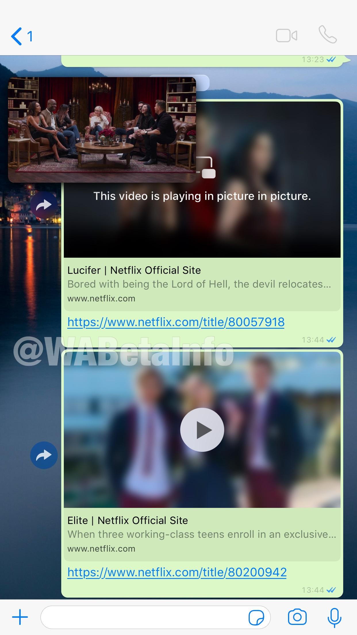 WhatsApp Netflix-dən video ardıcıllığı yayımlamağa başlayacaq 2
