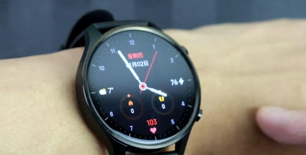 Revisión de color de Xiaomi Mi Watch: Ver en Google Wear OS