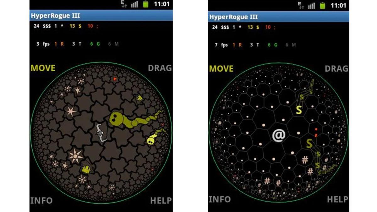 """HyperRogue ekran görüntüsü """"width ="""" 1200 """"height ="""" 675"""